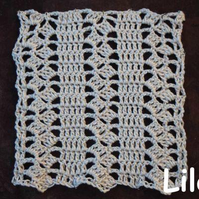 Dico de points au crochet 52 DIY modele tuto gratuit
