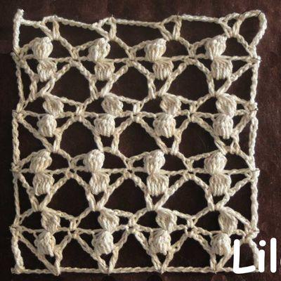 Dico de points au crochet 76 DIY modele tuto gratuit