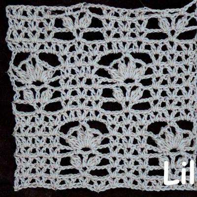 Dico de points au crochet 85 DIY modele Tuto gratuit