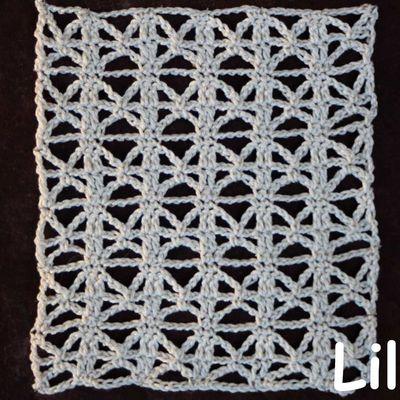 Dico de points au crochet 89 DIY modele tuto gratuit