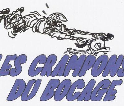 Balade moto des Crampons du Bocage (85), le 3 mars 2016