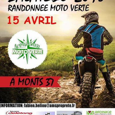 Rando moto d'évasion moto verte le 15 avril 2018 à monts (37)