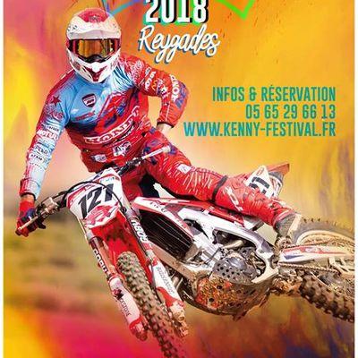 Kenny Festival 2018, le 8 et 9 septembre à Reygades
