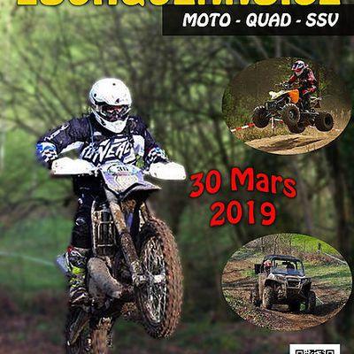 7 ème rando Lourquennoise moto, quad et SSV le 30 mars 2019
