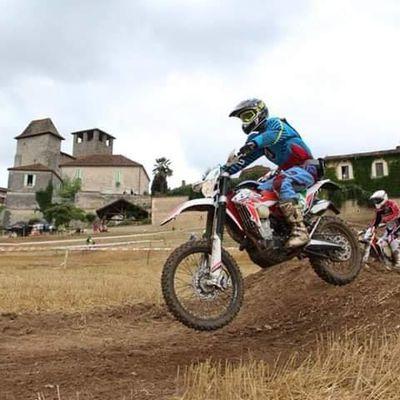 Rando moto La Sioraçoise de L'Association Animer pour Vivre à Siorac (24), le samedi 27 juillet 2019