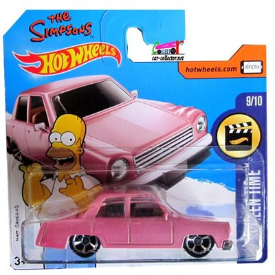 THE SIMPSONS FAMILY CAR HOT WHEELS 1/64