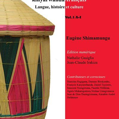 Conférence-dédicace: Présentation du Dictionnaire bilingue et encyclopédique Kinyarwanda-Français