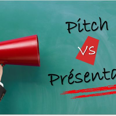 Pitch Vs Présentation : Combien y a t-il de points communs ?