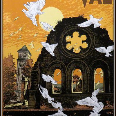 """Abbaye d'Orval, """"Vierge du combat"""" par Camille Colruyt"""
