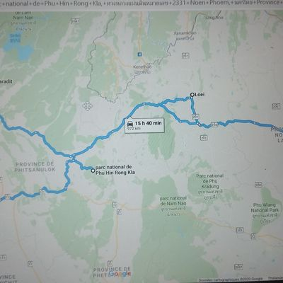 Parc national de Phu Hin Rong Kla