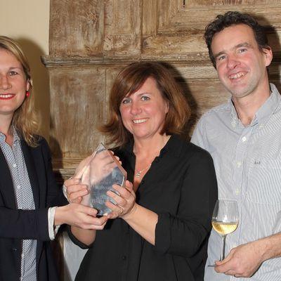 #eviivo remet son Prix du Trésor Caché de #Normandie au Manoir de #Hérouville !