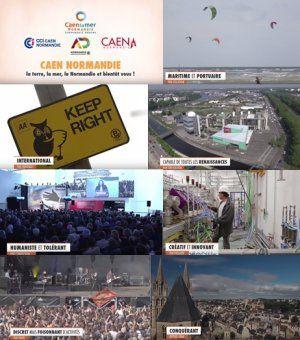 #Caen #Normandie : La terre, la mer, la Normandie … et bientôt vous ? Le film !