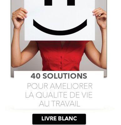 #ActivUP : 40 solutions pour améliorer la qualité de vie au travail
