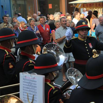The Band of the Island of Jersey en concert à Avranches