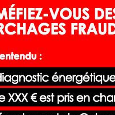 #Calvados - Appel a la vigilance : attention aux démarchages frauduleux !