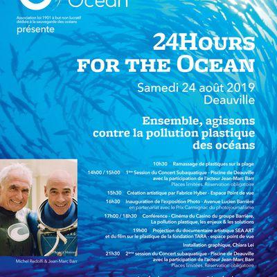 #Deauville - 3ème édition des 25hours for the Ocean !