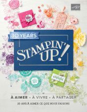 Nouveau catalogue Stampin'Up! 2018/2019