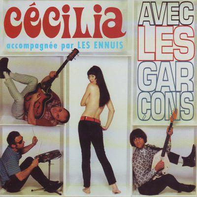 cécilia et ses ennuis, cécilia meneau inspirée des groupes de filles américains des sixties, elle nous vient du groupe de rock no talents