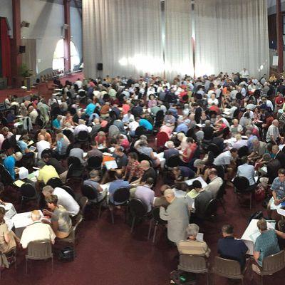 Assemblée Générale de la Communauté Mission de France à La Pommeraye du 13 au 16 juillet 2017