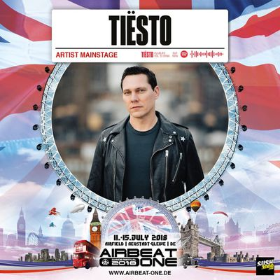 Tiësto date | Airbeat One | Neustadt-Glewe, Germany - july 12, 2018 | Set Times