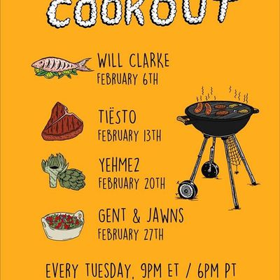 Tiësto tracklist and mp3 | The Cookout | Radio Electric Area, Sirius XM - february 13, 2018