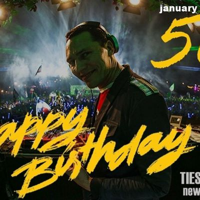 Happy birthday Tiësto !! 50 years old today