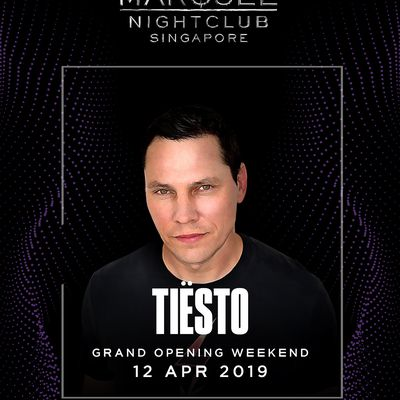 Tiësto date | Marquee | Singapore, Singapore - April 12, 2019