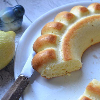 Cake au citron et aux Petits Suisse