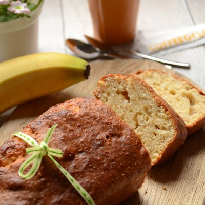 Cake coco banane citron vert