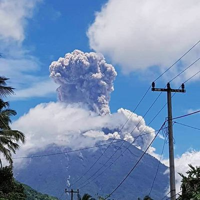 News from Agung, Poas and Turrialba.