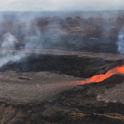 News of Kilauea, Mayon, La Fournaise and Fuego.