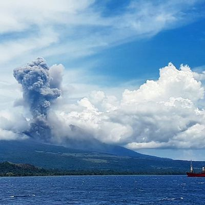 Activity of Langila, Nevados de Chillan, Nishinoshima and Merapi.