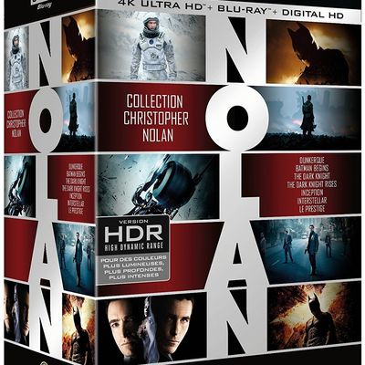 Collection 7 films Christopher Nolan en un seul coffret blu-ray ultra hd