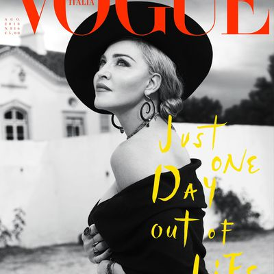 Madonna by Mert Alas & Marcus Piggott for Vogue Italia