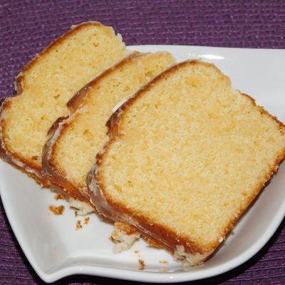 Cake ultime au citron de Bernard.