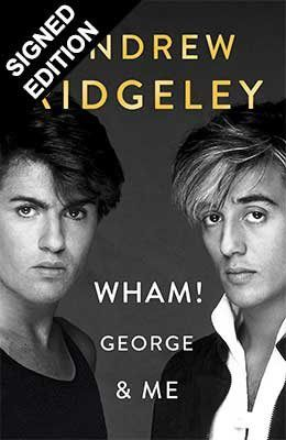 GEORGE MICHAEL -  PAN ! GEORGE AND ME - EDITION SIGNEE BY ANDREW RIDGELEY !!