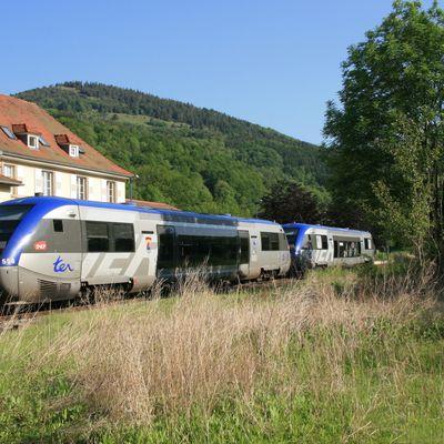 Le parc des automoteurs thermiques de la SNCF