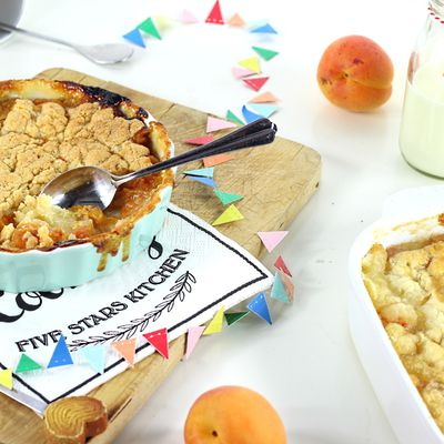Crumble Pêches & Abricots