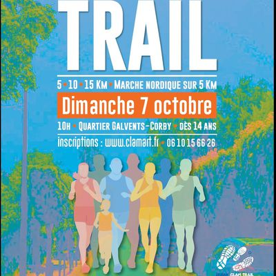 Urban Trail Clam 7 octobre à Clamart