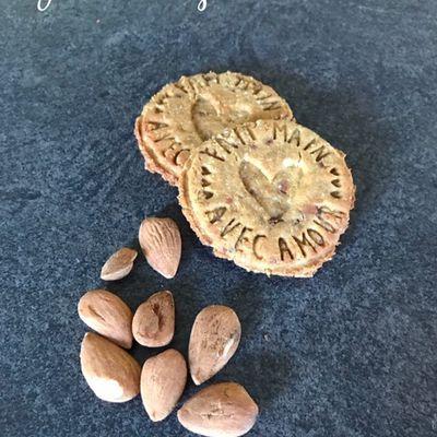 Biscuits aux amandes sans gluten à base d'okara d'amande