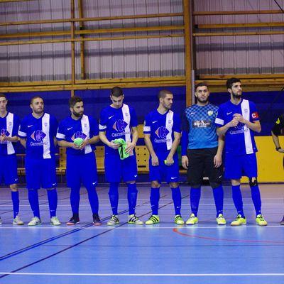 Le 8e de finale de l'AS Minguettes Futsal en Coupe Nationale aura lieu à Neuville