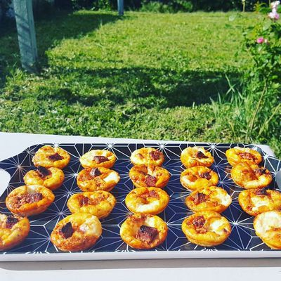 Minis tartelettes, inspirations basques - Bataille Food #79