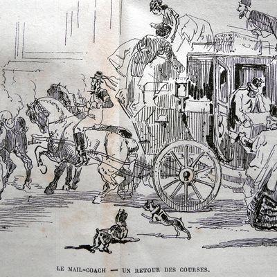 Commentaires sur les voitures; datés de 1865