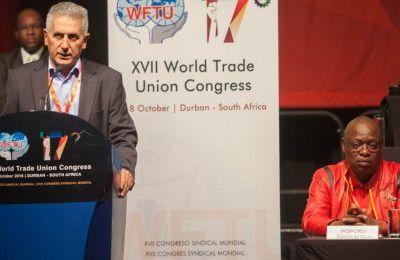 Les Etats-Unis empêchent le secrétaire général de la Fédération Syndicale Mondiale de se rendre à l'ONU