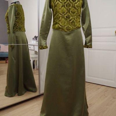 Robe de style médiéval hiver (Déguisement)