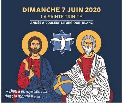 Paroisses de Genlis et Saint Just de Bretenières - Semaine du 6 au 14 juin 2020 - Sainte Trinité - Année A