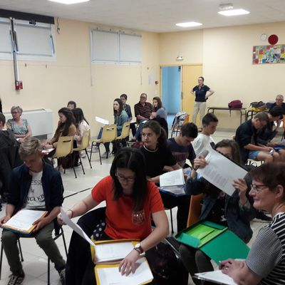 D.O.D.I. PROJECT 17 - PREPARING THE WEDDING - MEETING FRENCH SENIORS AT SCHOOL