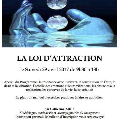 STAGE LOI D'ATTRACTION 29 AVRIL 2017
