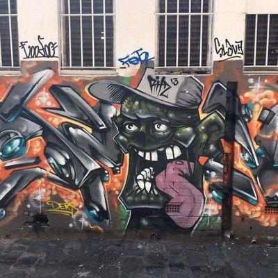 Street Art : Graffitis & Fresques Murales Melbourne (Australie)