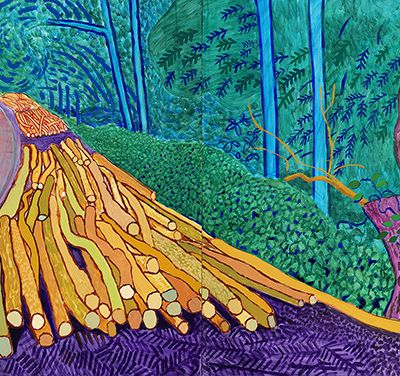 Hockney - Van Gogh. The Joy of Nature (Van Gogh Museum, 1 March to 26 May 2019)